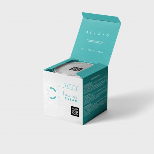 Aqua Face Cream Refill - krem na dzień Refill
