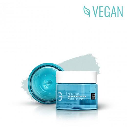 Aqua Hand Moisturizing Gel Antibacterial
